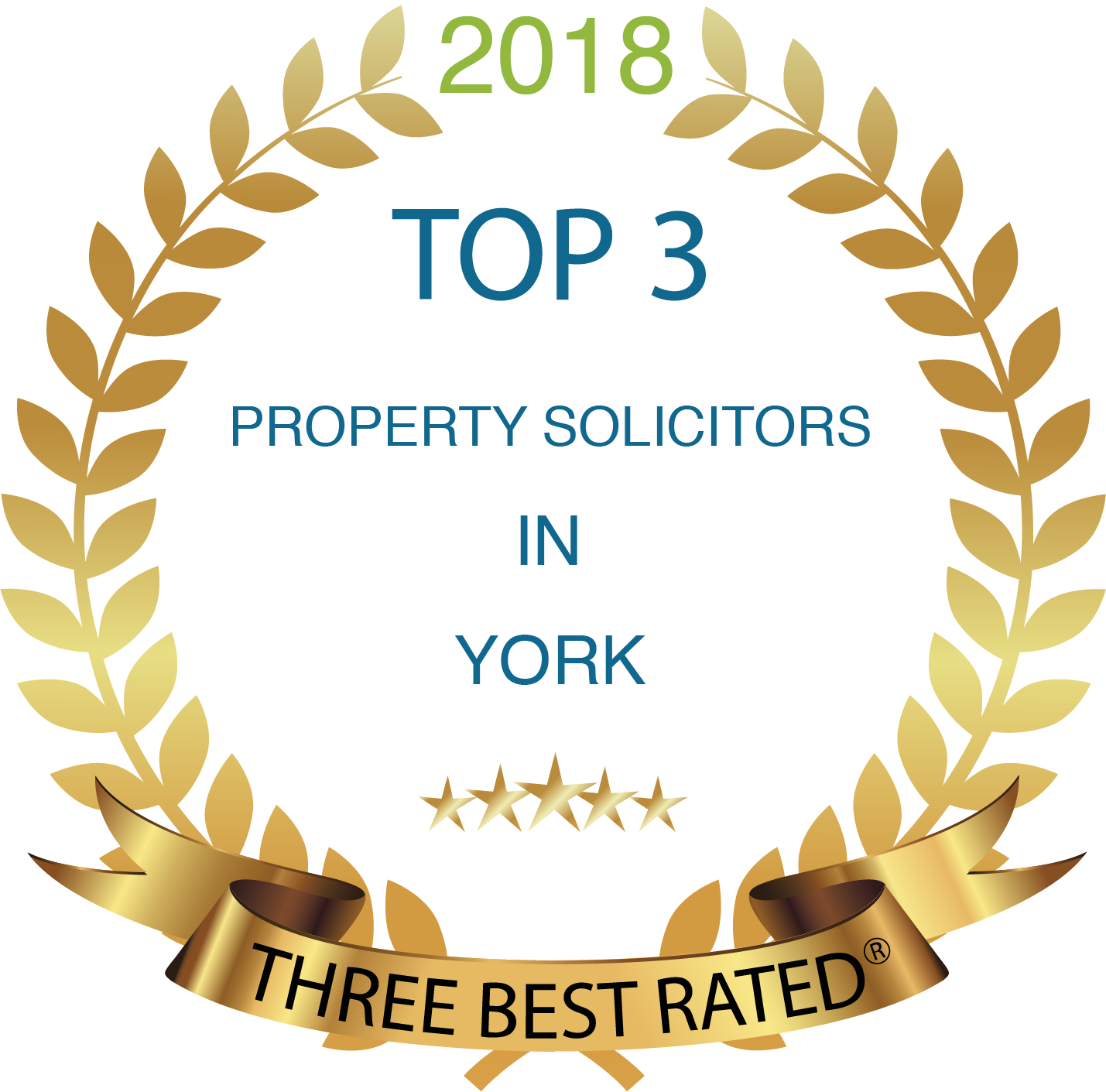 Top 3 Award for Barbara Jacobs & Co Solicitors - property and conveyancing residential sale and purchase